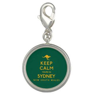 シドニーの平静をあなたは保って下さい! チャーム