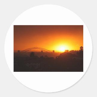 シドニーの日没 ラウンドシール
