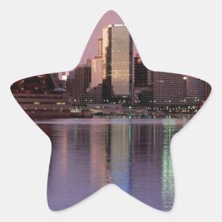 シドニーの美しいスカイライン 星シール