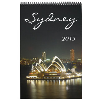 シドニーオーストラリア2015年 カレンダー