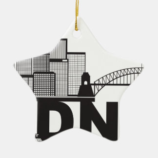 シドニーオーストラリアSklyineの文字の輪郭 セラミックオーナメント
