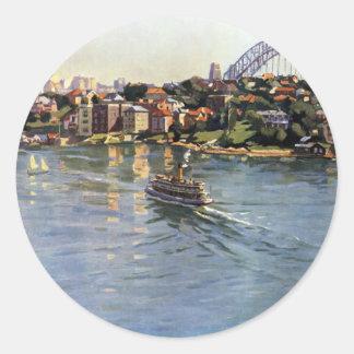 シドニー港、オーストラリア ラウンドシール