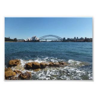 シドニー港 フォトプリント