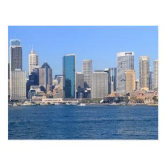 シドニー都市パノラマ ポストカード