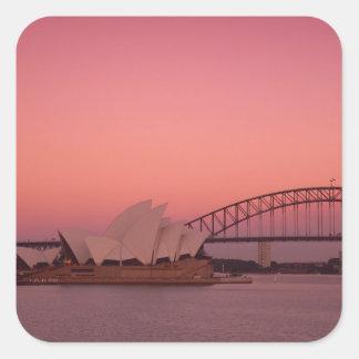 シドニー・オペラハウスおよび港の新しい南 スクエアシール