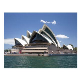 シドニー・オペラハウスの外面、シドニーの新しい南 ポストカード