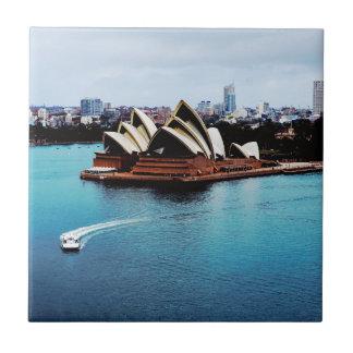 シドニー・オペラハウスの特徴 タイル