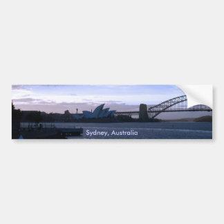 シドニー、オーストラリアのバンパーステッカー バンパーステッカー