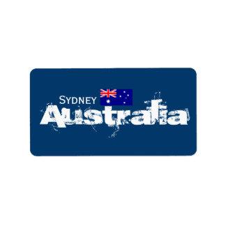 シドニー、オーストラリアのラベル ラベル