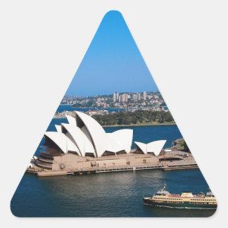 シドニー 三角形シール