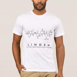 シナノキのペプチッド名前のワイシャツ Tシャツ