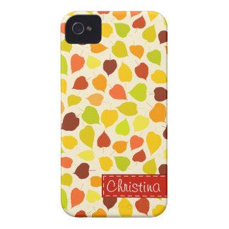 シナノキの紅葉 Case-Mate iPhone 4 ケース