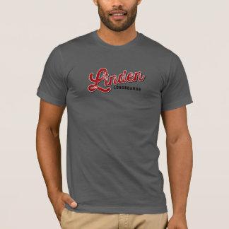 シナノキLongboards灰色T Tシャツ