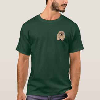 シナモンのチャウチャウ Tシャツ