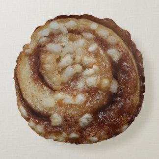 シナモンの粘着性があるパンのノベルティ ラウンドクッション