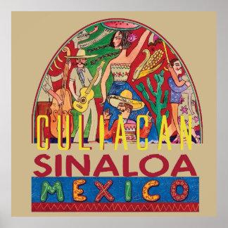 シナロア州メキシコ ポスター