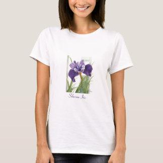 シベリアのアイリス- Tシャツ