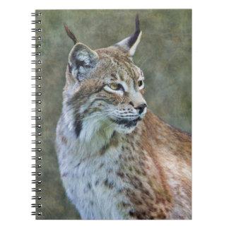 シベリアのオオヤマネコのノート ノートブック