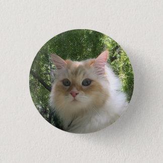 シベリアの森林猫 3.2CM 丸型バッジ