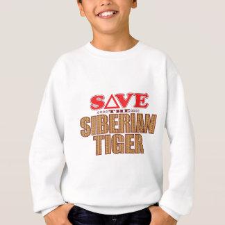 シベリアトラの保存 スウェットシャツ