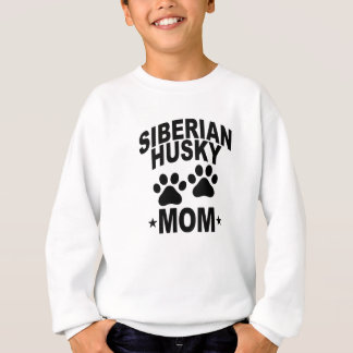 シベリアンハスキーのお母さんDOG.png スウェットシャツ