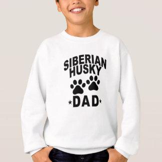 シベリアンハスキーのパパDOG.png スウェットシャツ