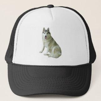 シベリアンハスキーの帽子 キャップ