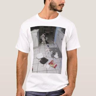 シベリアンハスキーのTシャツ Tシャツ