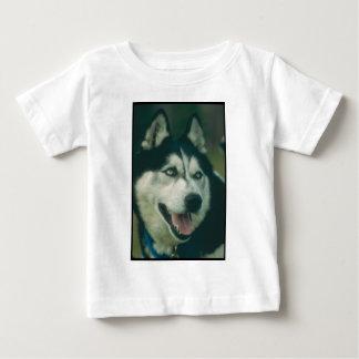 シベリアンハスキー ベビーTシャツ