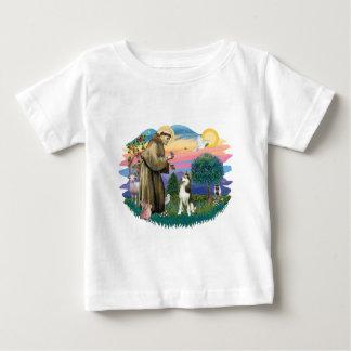 シベリアンハスキー(#3) ベビーTシャツ