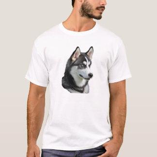 シベリアンハスキー Tシャツ