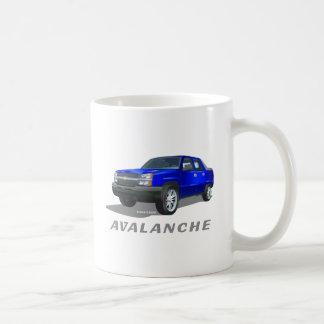 シボレーのなだれの青 コーヒーマグカップ
