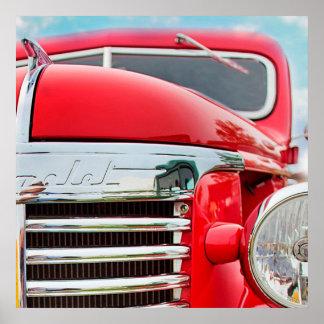 シボレーのクラシックなトラック ポスター