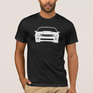 シボレー・カマロの写実的で暗いメンズ Tシャツ