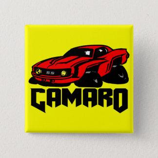 シボレー・カマロSS 5.1CM 正方形バッジ