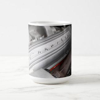 シボレー・コルベット327弁カバーコーヒー・マグ コーヒーマグカップ