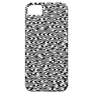 シマウマのジグザグ形 iPhone SE/5/5s ケース