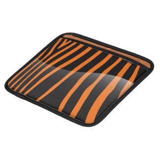 シマウマのストライプなiPadの袖 iPadスリーブ