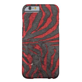 シマウマのスパンコール BARELY THERE iPhone 6 ケース