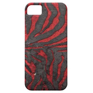 シマウマのスパンコール iPhone SE/5/5s ケース