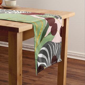 シマウマのハーレム ショートテーブルランナー