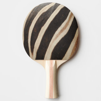 シマウマのプリントの卓球ラケット 卓球ラケット