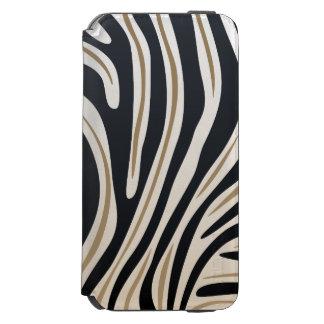 シマウマのプリントの財布 INCIPIO WATSON™ iPhone 5 財布型ケース