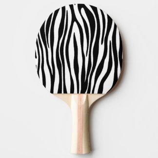 シマウマのプリント 卓球ラケット