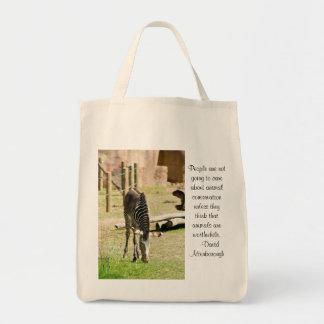 シマウマの保存 トートバッグ