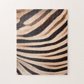 シマウマの毛皮のパズル ジグソーパズル
