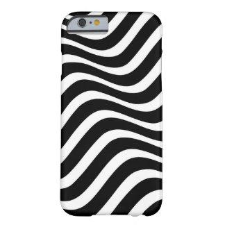 シマウマの波パターン BARELY THERE iPhone 6 ケース