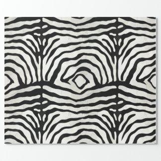 シマウマの皮の包装紙 ラッピングペーパー