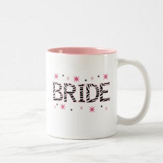 シマウマの花嫁 ツートーンマグカップ