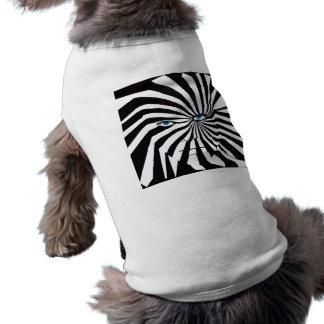 シマウマの顔犬のコート ペット服